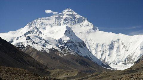 A cara norte do Everest é a máis difícil de escalar