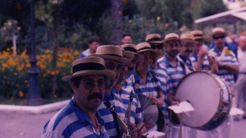 En los inicios, en los primeros años 80, en uno de los carnavales de Gijón