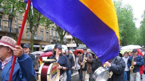 Durante el 1º de Mayo, en 2010, en Toulouse