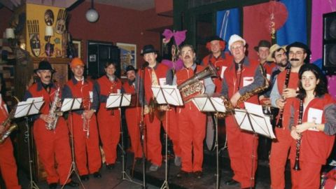 En unos carnavales, en el Café Gijón, a finales de los 90