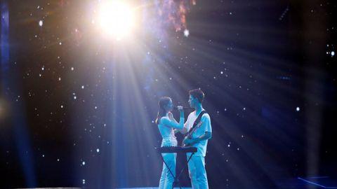 El dúo de Eslovenia en Eurovisión
