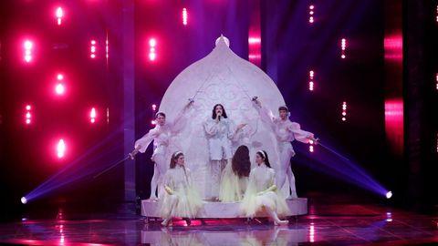Katerine Duska, de Grecia, en Eurovisión