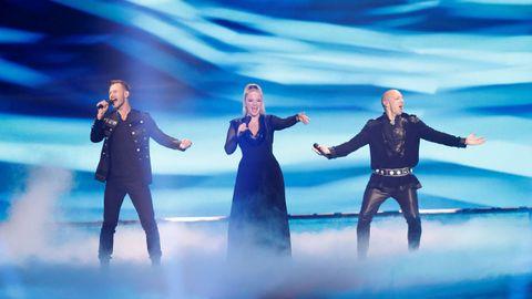 El grupo KEiiNO, de Noruega, en Eurovisión