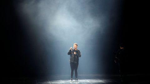 Michael Rice, representante del Reino Unido, en Eurovisión