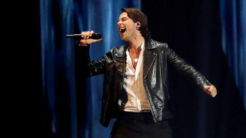 Victor Crone, de Estonia, en Eurovisión