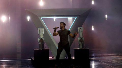 Chingiz, de Azerbaiyán, en Eurovisión