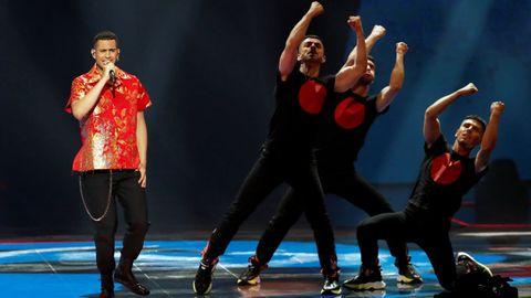 Mahmood, de Italia, en Eurovisión