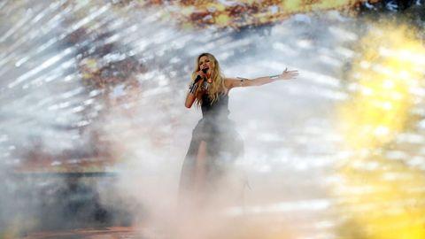 Nevena Božovic, de Serbia, en Eurovisión