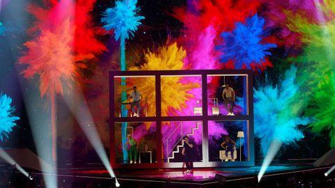 Miki, representante de España, en Eurovisión