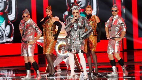 Verka Serduchka en las actuaciones del interval de Eurovisión