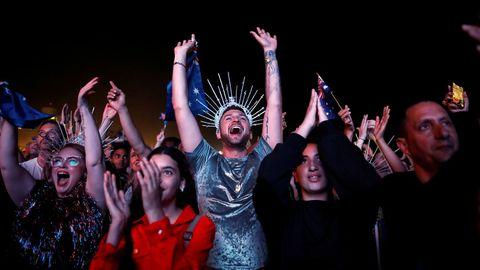 Público durante la gran final del festival de Eurovisión