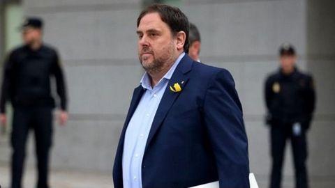 Oriol Junqueras (ERC). Busca diferenciarse de Junts desde el Congreso.