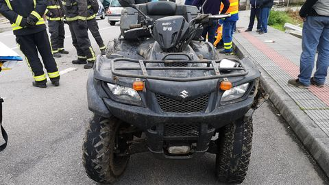 Imagen de archivo de un vehículo tipo quad
