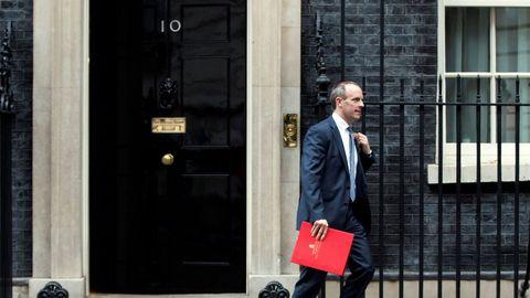 El exministro del «brexit», Dominic Raab