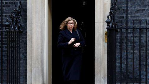 La ministra de Defensa, Penny Mordaunt