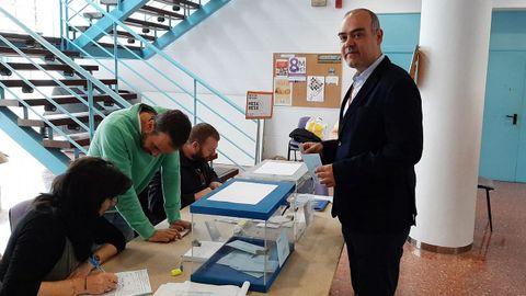 David Pita (PSOE), en el auditorio