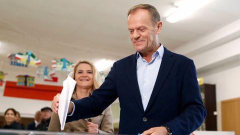 El presidnete del Consejo Europeo, Donald Tusk