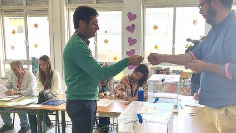 ELECCIONES 26M EN SANXENXO: VOTACIÓN DEL CANDIDATO A LA ALCALDÍA POR SAL, GONZALO PITA