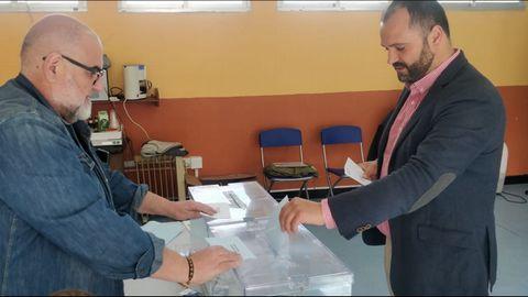 Bernardo Fernández, candidato del PSOE de Pontedeume