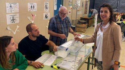 ELECCIONES 26M EN PONTE CALDELAS: VOTACIÓN DE LA CANDIDATA A LA ALCALDÍA POR CIUDADANOS, SELENE DOMÍNGUEZ