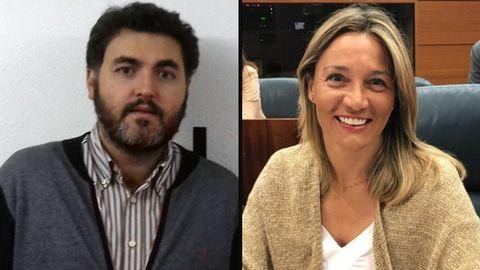 Jonás Fernández y Susana Solís