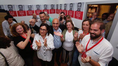 Seguimiento de los resultados en el PSOE de Pontevedra