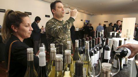Fevino, cata en el túnel del vino