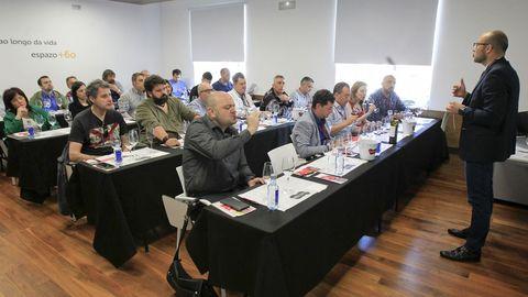 Cata con el director técnico de la D. O. de Rioja Pablo Franco en Fevino