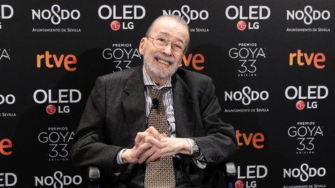 Chicho Ibáñez Serrador, este año en la fiesta de los nominados de los Goya