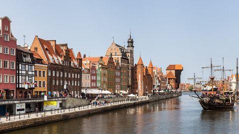 La ciudad polaca de Gdansk
