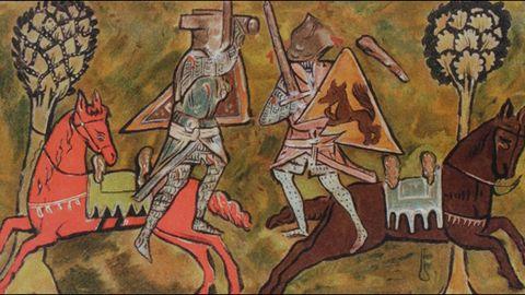 Campbell compara la literatura artúrica con los textos homéricos y la considera incluso superior a Dante