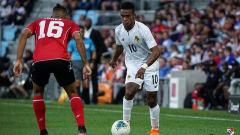 Yoel Bárcenas ante Trinidad y Tobago