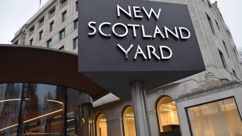 Comisaría central de la policía británica en New Scotland Yard