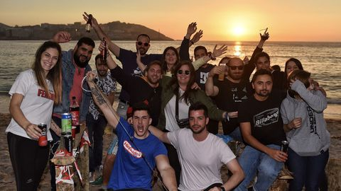 El SanXoánde A Coruña 2019, en imágenes