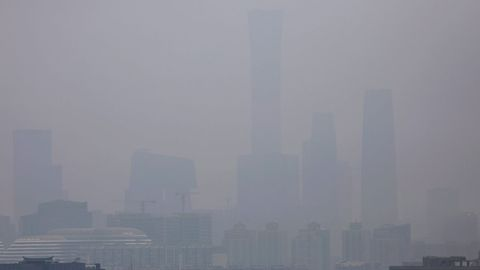 La contaminación del aire, que afecta especialmente a ciudades chinas, mata a tres millones de personas al año