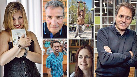 Los autores Inma López Silva, Amador Castro, Rosa Aneiros, Héctor Cajaraville, Antía Yáñez y Domingo Villar revelan sus lecturas para estas vacaciones
