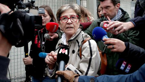 Viviane Lambert, madre del teatrapléjico francés