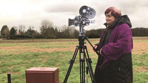 Varda explica en el documental su legado creativo