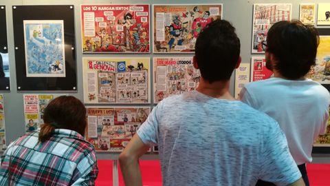 Metrópoli incluye una exposición dedicada al cómic