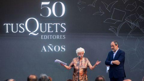 Celebración del 50 aniversario de Tusquets