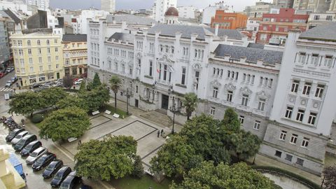 Sede del Tribunal Superior de Xustiza, en A Coruña