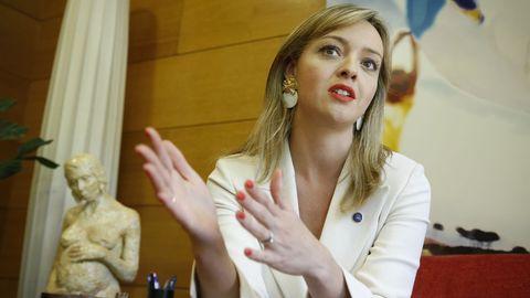 Fabiola García es la conselleira de Política Social