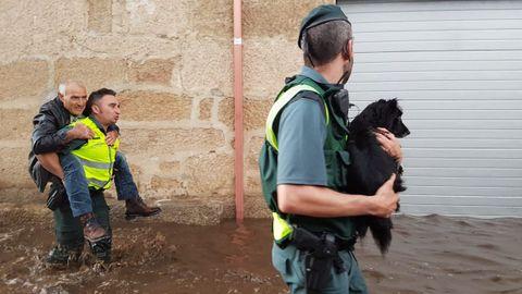 Inundaciones Albarellos, Monterrei