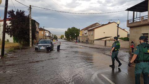 Más imágenes de las inundaciones en Monterrei