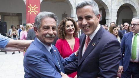 Revilla con el socialista Pablo Zuloaga