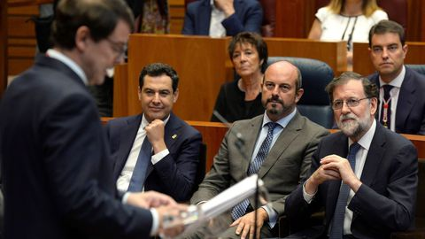 Mariano Rajoy, en la toma de posesión