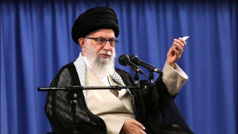 El líder supremo de Irán, Ali Khamenei