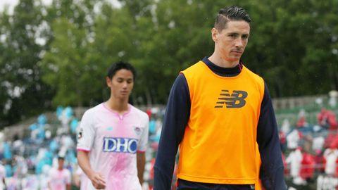 Fernando Torres, que milita en el Sagan Tosu, colgará las botas a finales de agosto