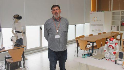 citic.Manuel González Penedo es el director del Citic
