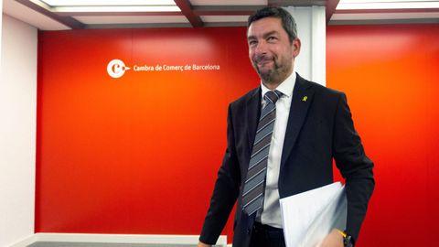 El nuevo presidente de la Cámara de Comercio de Barcelona, Joan Canadell